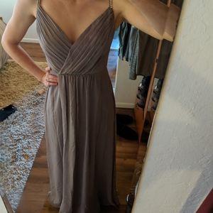 David's bridal dress (bridesmaid/prom) sz 4